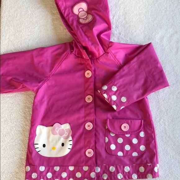 3dd80bd8d Western Chief Jackets & Coats | Hello Kitty Rain Coat Jacket Pink 4 ...